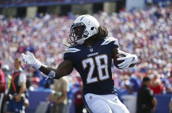 Gordon rushes for 3 scores as Chargers beat Bills