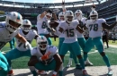 Frank Gore moves to 4th on NFL's all-time rushing list as Dolphins top Jets to improve to 2-0