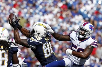 RECAP: RB Melvin Gordon scores 3 TDs as Chargers top Bills