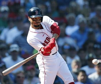 MLB roundup: Mookie Betts hurts side, says injury minor, Red Sox near East title