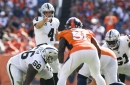 Derek Carr's nearly flawless air display can't deliver Jon Gruden win over Broncos