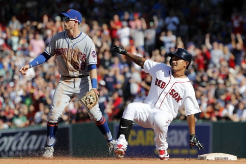 Cy, then no relief, as Mets drop game and series to Red Sox