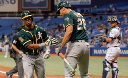 How A's could pop champagne this weekend