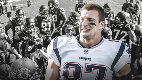Patriots TE Rob Gronkowski admits Jaguars did a good job covering him