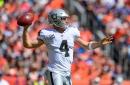 Raiders report card: Derek Carr shines, run defense not so much