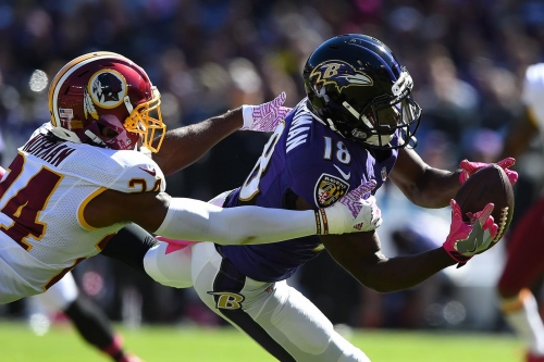 Report: Redskins working WR Breshad Perriman today