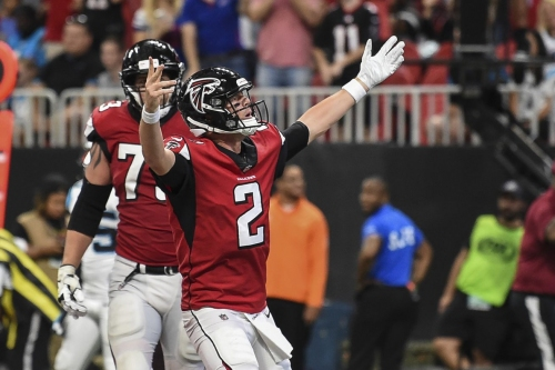 3 Falcons up, 3 Falcons down in Week 2 win over Panthers