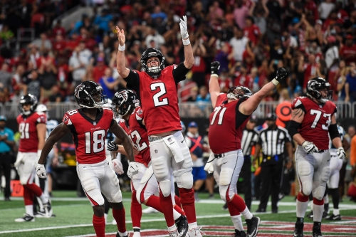 Falcons favorites to win NFC South as Saints slip