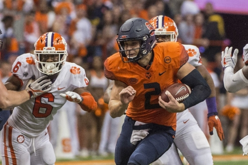 Syracuse at Clemson kickoff scheduled for high noon on ABC