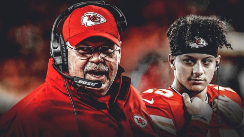 Chiefs QB Patrick Mahomes gives credit to Andy Reid for his historic start