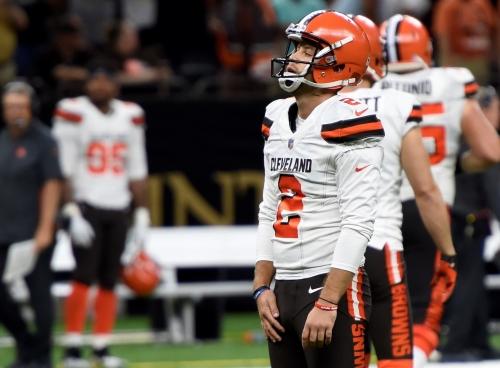 Mean tweets aimed at Browns kicker befall wrong Zane Gonzalez