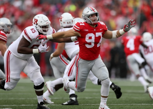 Nick Bosa out for Tulane game: Ohio State football news
