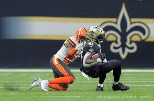 Saints run game has been grounded, but showed 4th-quarter life vs the Browns