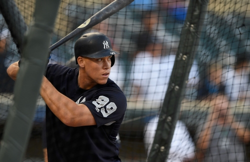 Aaron Judge faces live pitching as he readies for New York Yankees return as a hitter