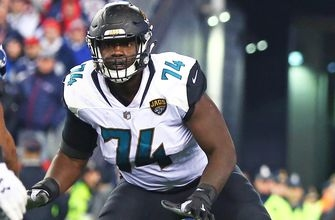 Jaguars left tackle Cam Robinson out for season with knee injury