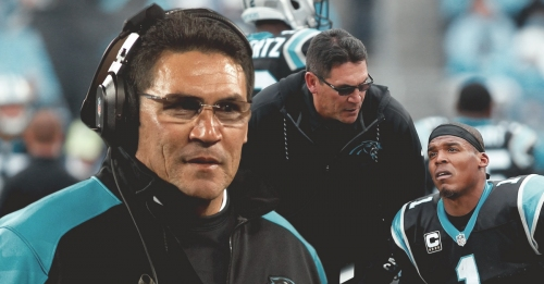Ron Rivera says Panthers QB Cam Newton should feel safer with new rules