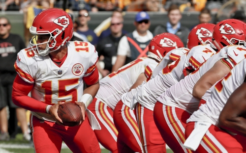 The NFL belongs to Kansas City Chiefs quarterback Patrick Mahomes now