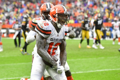 Josh Gordon traded by Cleveland Browns to New England Patriots