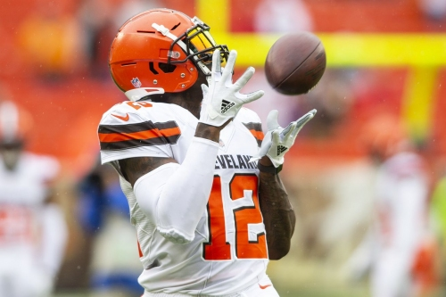 Resetting the Patriots' wide receiver depth chart after the Josh Gordon trade