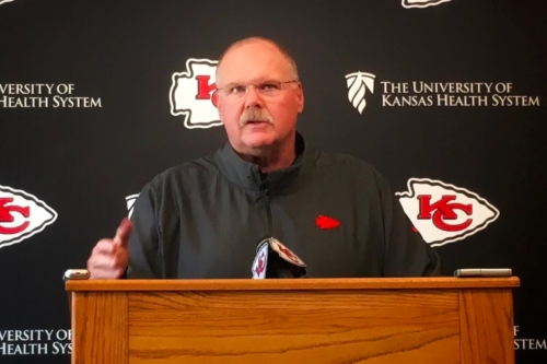 Chiefs' Andy Reid roundup: Patrick Mahomes, Sammy Watkins and defensive woes