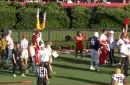 LSU QB Joe Burrow Talks Tumble Over Auburn Fence