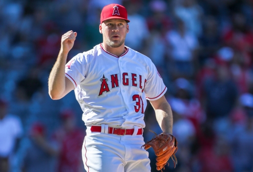 Rookie Ty Buttrey has quickly risen to prominent role in Angels' bullpen