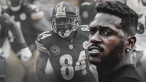 Steelers WR Antonio Brown hobbled by calf injury in Week 2
