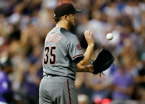 Matt Andriese will make first start for Diamondbacks against Chicago Cubs