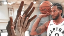 Raptors news: Kawhi Leonard's hands are 52% wider than an average person