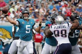 Patriots' struggles on D evident in loss to Jaguars