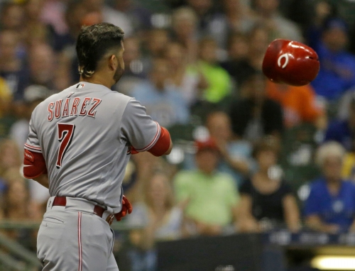 Christian Yelich makes history with another cycle as Cincinnati Reds' slump continues