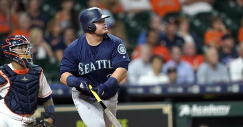 Daniel Vogelbach's pinch-hit grand slam gives Mariners win to open series in Houston