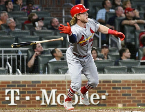 Cardinals keep Braves behind with four home runs