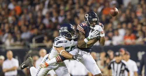 Will Mychal Kendricks' first game with the Seahawks — a defeat to the Bears — be his last?
