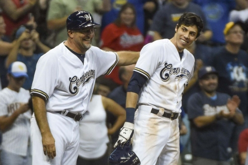 ANOTHER Christian Yelich Cycle! Brewers 8, Reds 0