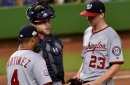 Erick Fedde and Nationals pay for walks in 8-5 loss to Marlins in Miami