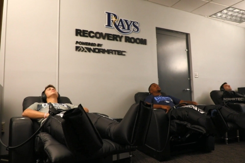 View from the Catwalk: Rays invest in NormaTec athlete recovery technology