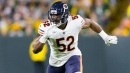 Brian Urlacher calls Khalil Mack 'a bad dude' after impressive start