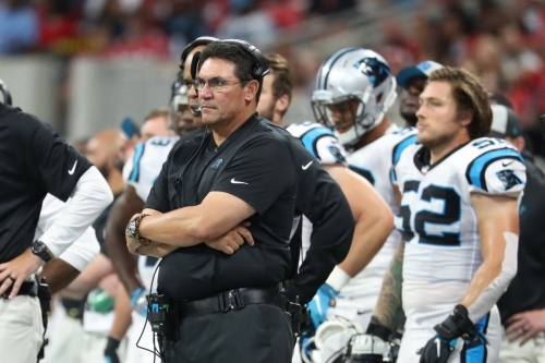 The Panthers fall a bit in the power rankings after their Week 2 loss