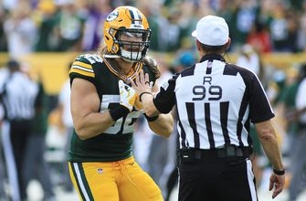 Skip Bayless on Clay Matthews roughing the passer penalty: It was a 'texbook, clean, easy' tackle