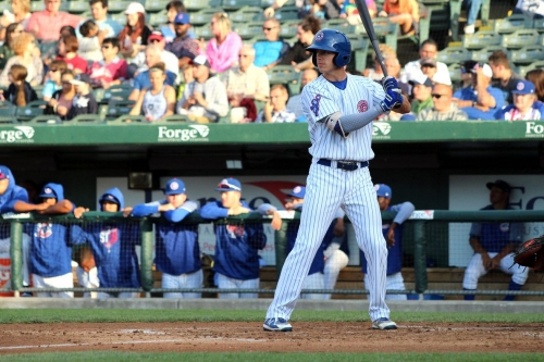 Cubs name Jared Young and Matt Swarmer as Minor League Player, Pitcher of the Year