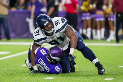 Vikings scoop up Tom Johnson after Seahawks cut him