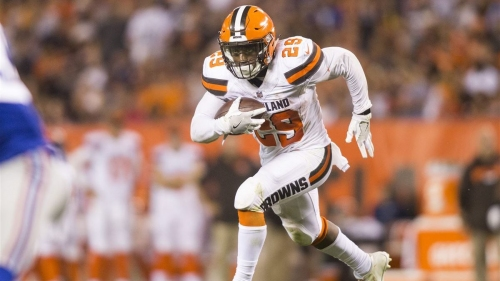 Browns coach Hue Jackson claims RB Duke Johnson needs to get more touches