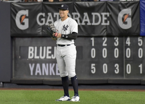 Aaron Judge returns: Yankees slugger in lineup Tuesday night vs. Boston Red Sox