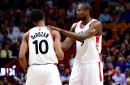 DeMar DeRozan and Serge Ibaka's challenge to eat a meal of worms
