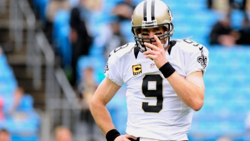Saints QB Drew Brees not pleased with 'sloppy' play by offense