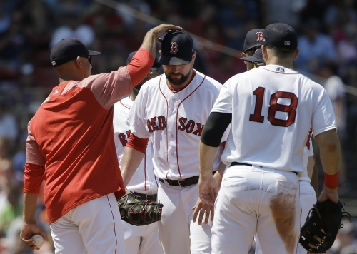 Alex Cora plans to enjoy from corner of Boston Red Sox clubhouse while players celebrate potential A.L. East title