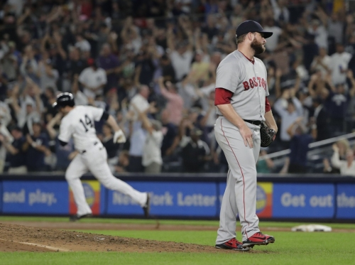 Red Sox bullpen blows 12th save in 2nd half (tied for MLB lead), Ryan Brasier gives up go-ahead HR in loss to Yankees
