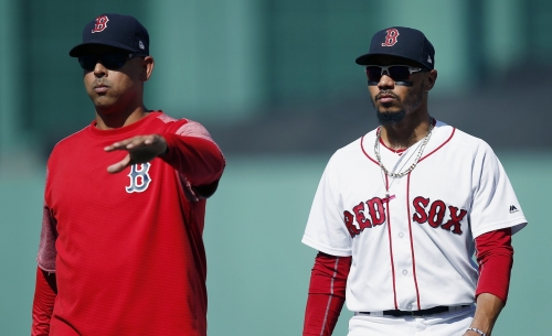 Mookie Betts unavailable as Boston Red Sox fall to New York Yankees on Tuesday