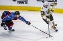 Avalanche loses preseason opener to Vegas Golden Knights